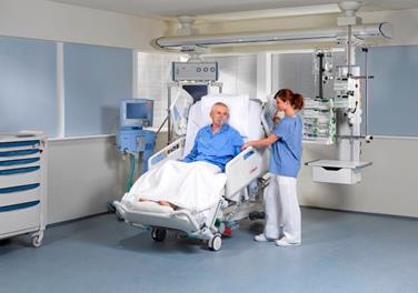 Улучшение легочной функции благодаря ортопноическому положению кровати